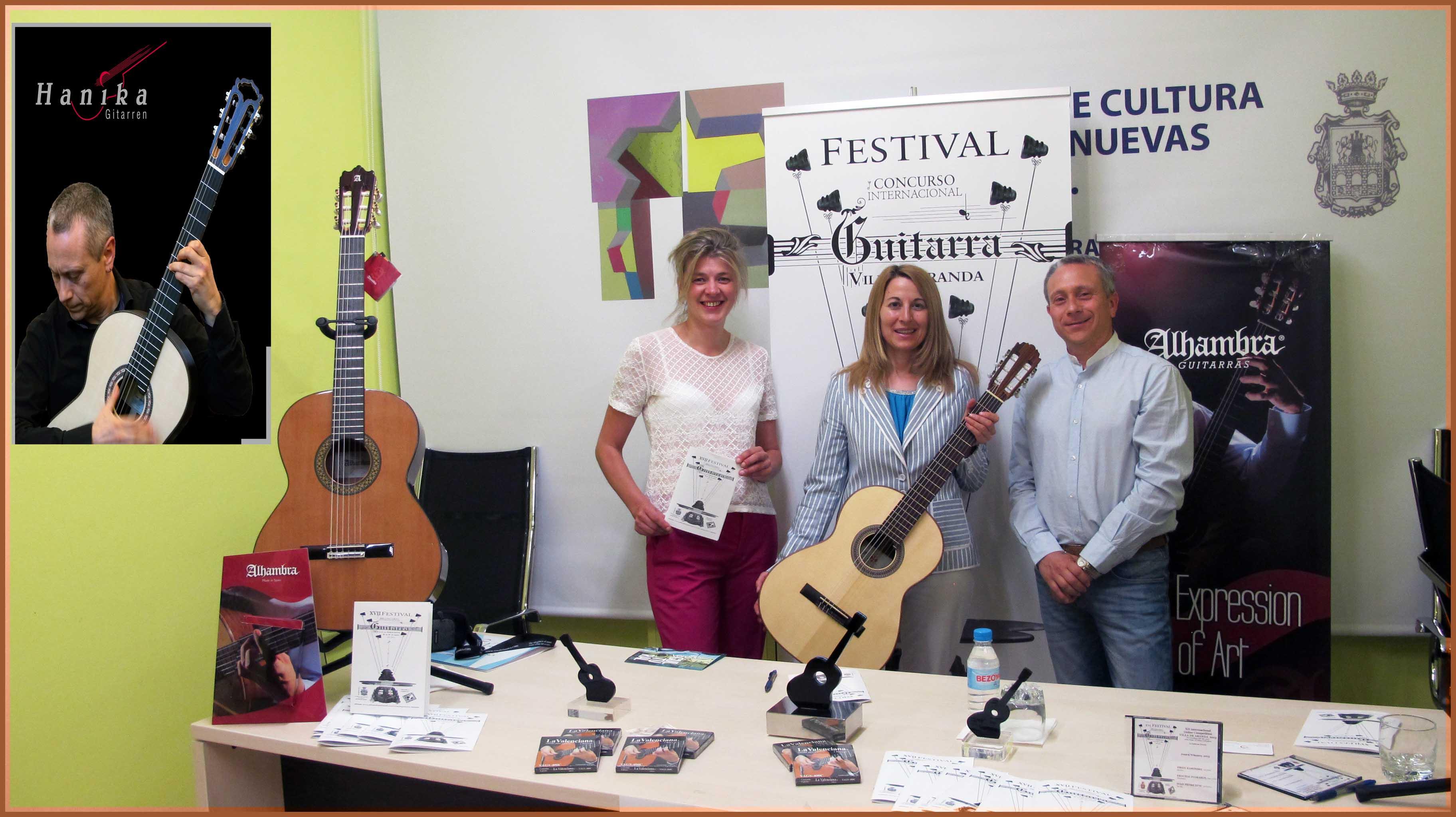 XVIII & XIV International Guitar Festival & Competition VILLA DE ARANDA
