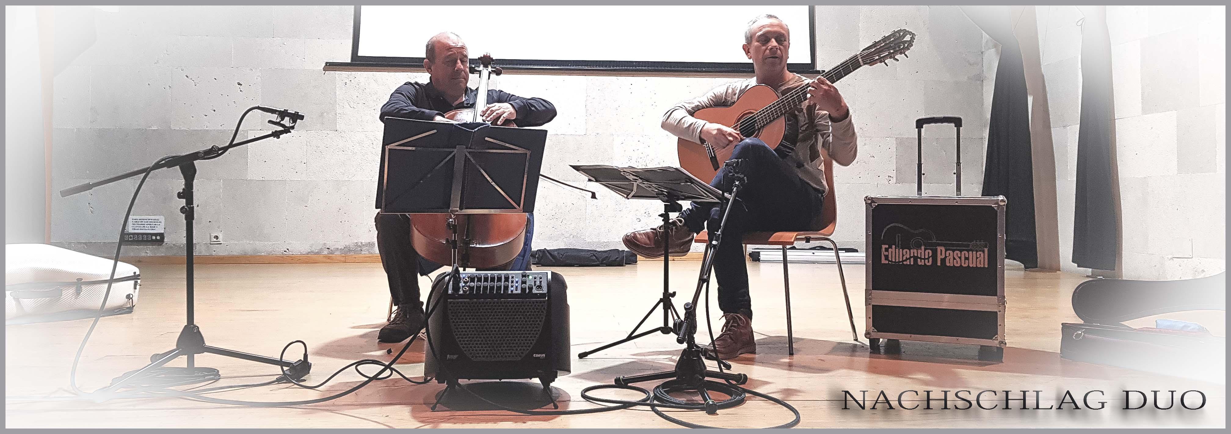 NACHSCHLAD DUO _ Festival Guitarra i Vi Betxi (Spain)