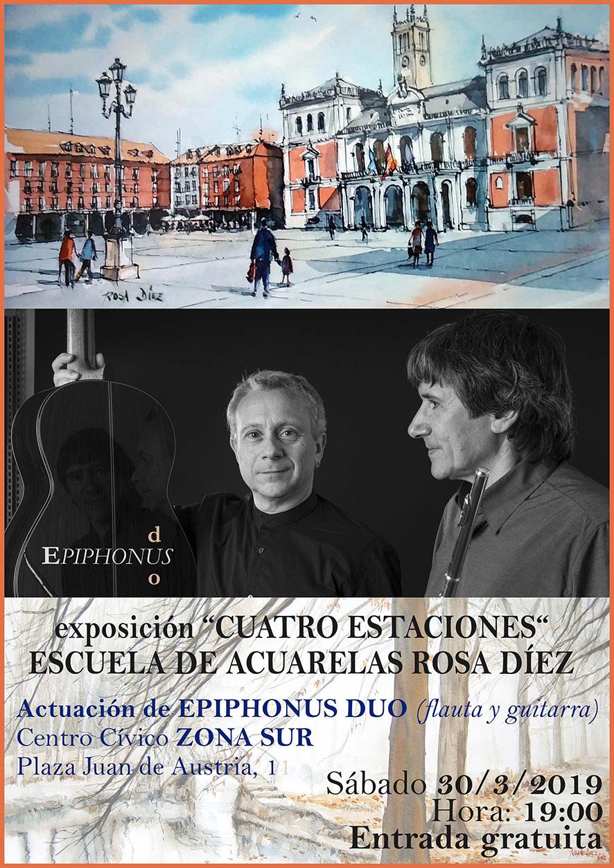 Epiphonus DUO _ Recital Centro Cívico ZONA SUR (Valladolid)