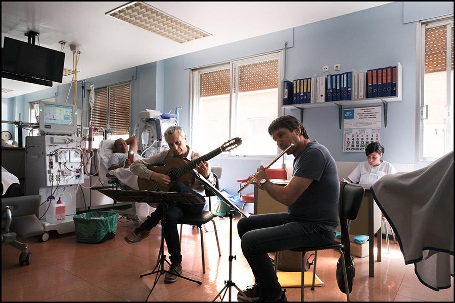 """HOSPITAL CLÍNICO (Nefrología) – """"Ondas Paliativas"""" VALLADOLID"""