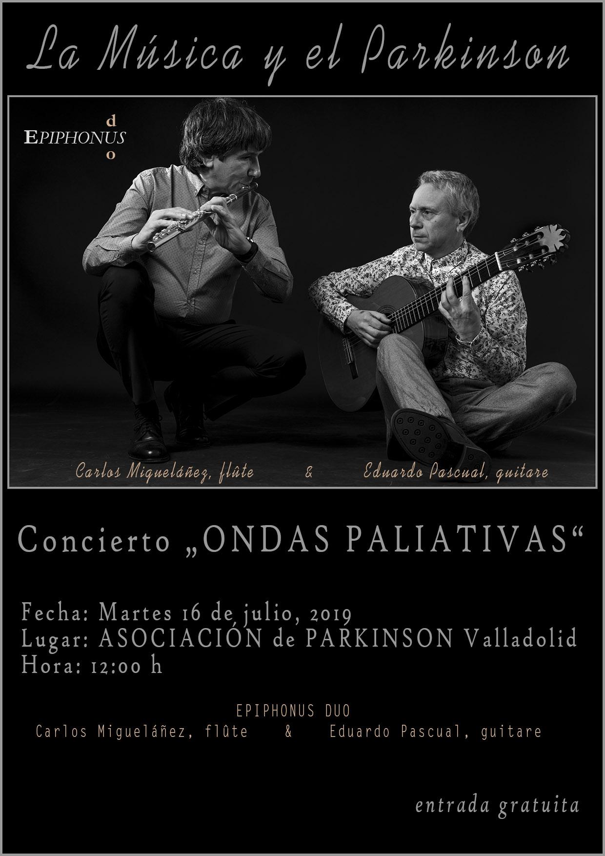 """APARVAL """"La Música y el Parkinson"""" (Valladolid)"""