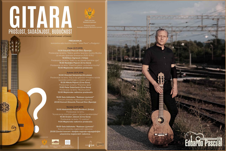 "Podgorica Guitar Festival ""Prošlost, sadašnjost, budućnost"" (Podgorica, Montenegro)"