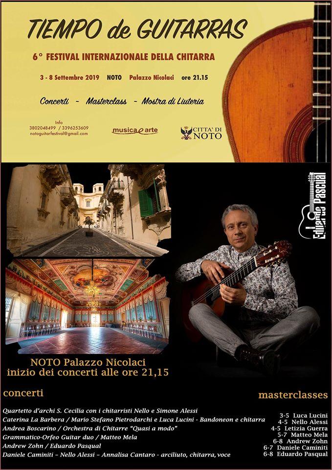 VI Tiempo De Guitarras Noto _ Sicilia
